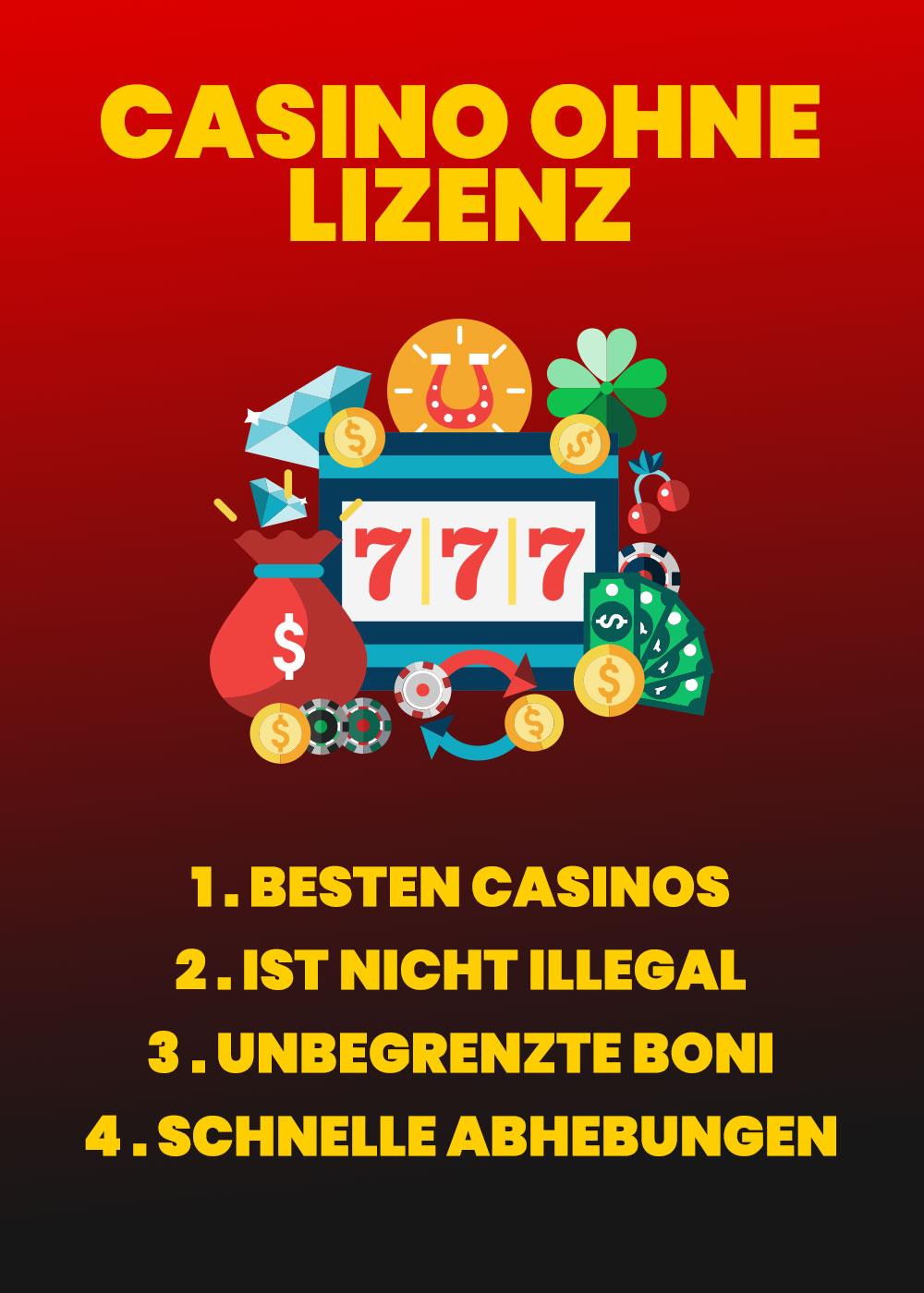 Casino ohne Lizenz 2020 - Nicht reguliertes Casino