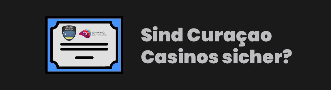 sind curacao casinos sicher